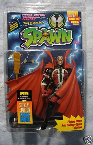 McFarlane Spawn with Comic MOC Meat Head Variant