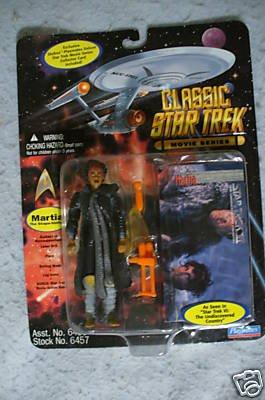 Star Trek CLASSIC MOVIE SERIES Martia Playmates MOC
