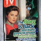 Star Trek Tv Guide Janeway Borg Cover.