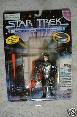 Star Trek Interstellar Action Borg Playmates  MOC