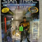 Star Trek Interstellar Action LaForge Playmates  MOC