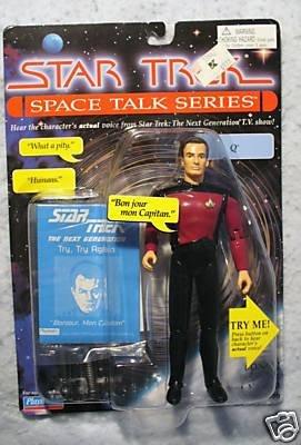 Star Trek Q Space Talk Series Playmates MOC