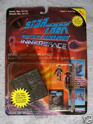 Star Trek Innerspace BORG SHIP MOC