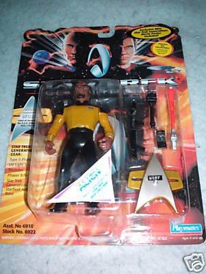 Star Trek Generations Worf Playmates MOC