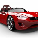"Henes Broon BRTF830 Ride on Toy Car with 7"" Android Tablet Red"