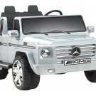 MERCEDES BENZ Gray G55 SUV Truck  Ride-On Toy 12V -  Seats 2 by NPL