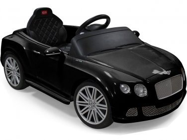RASTAR Bentley 2-In-1 Ride On Toy ABS Play Car Black