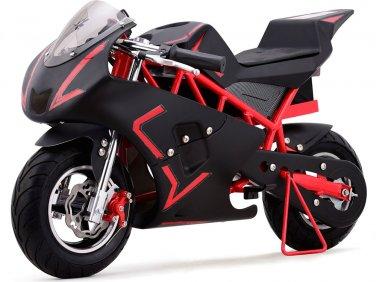 Super Pocket Bike California 36V Red Electric MOTOTEC Age 13+