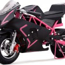 Super Pocket Bike California 36V Pink Electric MOTOTEC Age 13+