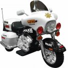 Kids Ride On Toy Motorcycle Police Patrol Ages 4 - 9 years