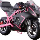 NEW Super Pink Pocket Bike 40cc Gas Powered CALI by MOTOTEC Age 13+