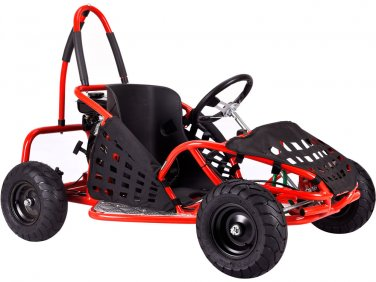 Red Go-Kart 79cc Gas Powered Ages 13+ Powersports