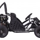 Black Go-Kart 79cc Gas Powered Ages 13+ Powersports