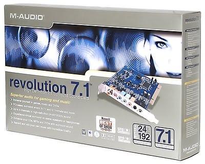 M-AUDIO Audiophile 7.1