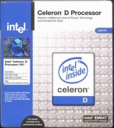 CELERON D-320 2.4 GHz. (533FSB)