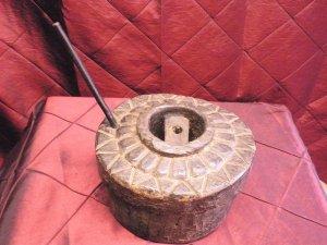 Indian toy chakki grinding tool
