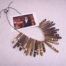 Flintstones movie prop necklace