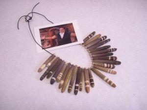 Flintstones movie prop necklace