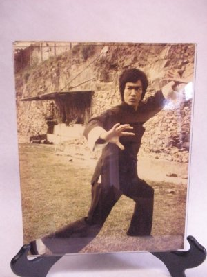 Original vintage photo of Bruce Lee