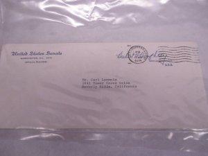 Hubert Humphrey autograph