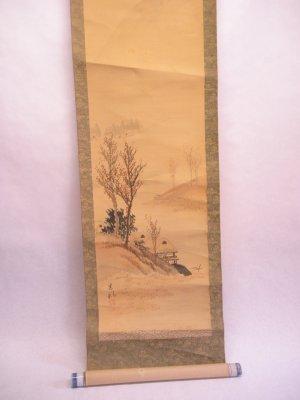 19th c Japanese scroll
