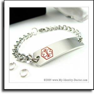 Custom Medical Alert Bracelets, Make Your Own ID Bracelet