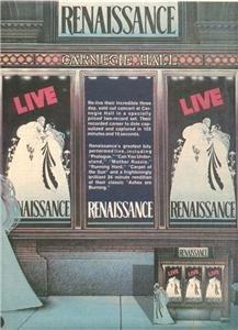 1976 RENAISSANCE LIVE POSTER TYPE AD