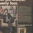 1975 JIM STAFFORD NOT JUST ANOTHER  FOOT POSTER TYPE AD