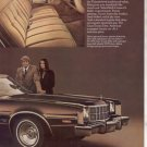 1974 FORD TORINO ELITE VINTAGE CAR AD 2-PAGE