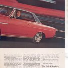 1965 1966 BUICK SKYLARK GRAN SPORTS VINTAGE CAR AD RED
