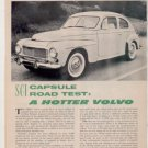 1957 VOLVO VINTAGE ROAD TEST 2-PAGE