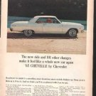 * 1965 CHEVY CHEVELLE PHOTO PRINT AD