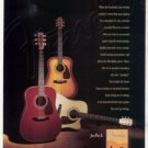 FENDER ACOUSTIC GUITAR AD DG SERIES 1995