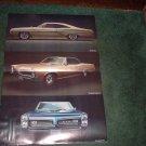 1967 PONTIAC GTO LAMANS VINTAGE CAR AD 2-PAGE