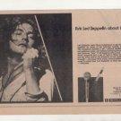 LED ZEPPELIN SHURE MIC PROMO AD 1975 ROBERT PLANT