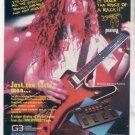 * 1993 PANTERA DIAMOND DIMEBAG DARRELL KORG AD