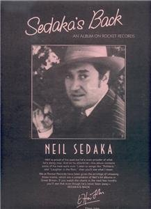 1974 NEIL SEDAKA  POSTER TYPE  AD