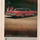 1966 1967 OLDSMOBILE CUTLASS VINTAGE CAR AD