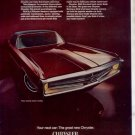 1969 1970 CHRYSLER NEWPORT 300 VINTAGE CAR AD