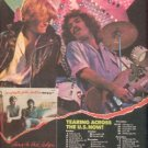 DARYL HALL JOHN OATES ALONG THE RED LEDGE TOUR AD 1978