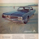 * 1968 CHRYSLER NEWPORT PHOTO PRINT AD