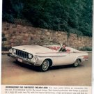 * 1962 DODGE POLARA 500 PHOTO PRINT AD