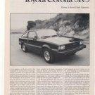 1980 TOYOTA COROLLA SR5 SR-5 ROAD TEST AD 6-PAGE