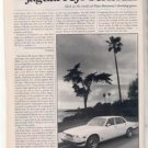 1980 1981 JAGUAR XJ6 SERIES III ROAD TEST AD 5-PAGE