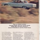 1965 1966 PLYMOUTH SATELLITE VINTAGE CAR AD