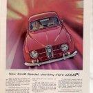 1965 1966 SAAB VINTAGE CAR AD