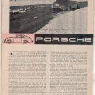 1958 PORSCHE VINTAGE ROAD TEST 5-PAGE