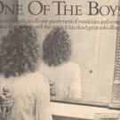 THE WHO ROGER DALTREY ONE OF THE BOYS PROMO AD 1977