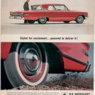 * 1963 MERCURY MONTEREY PHOTO PRINT CAR AD