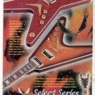 DEAN SELECT SERIES GUITAR AD 1998
